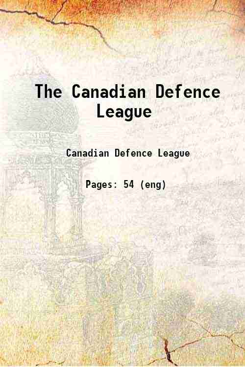 The Canadian Defence League