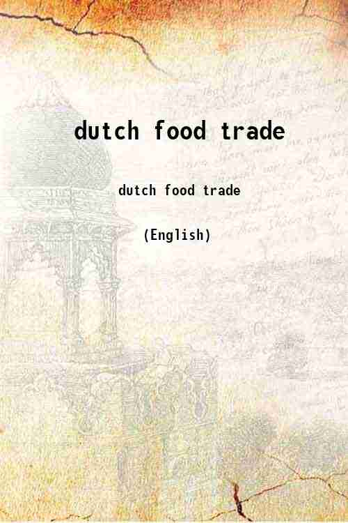 dutch food trade