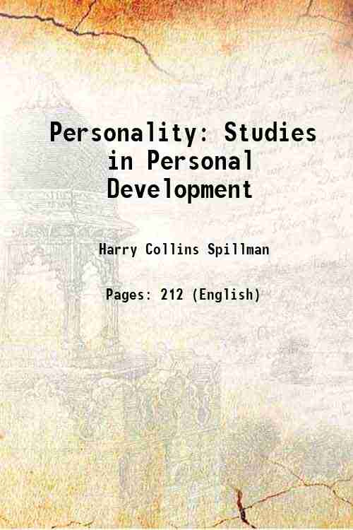 Personality: Studies in Personal Development