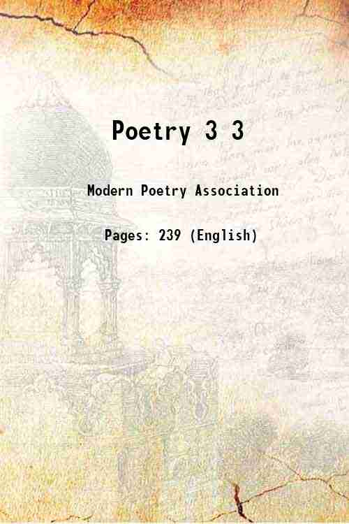 Poetry 3 3