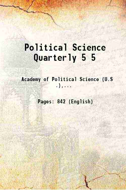 Political Science Quarterly 5 5