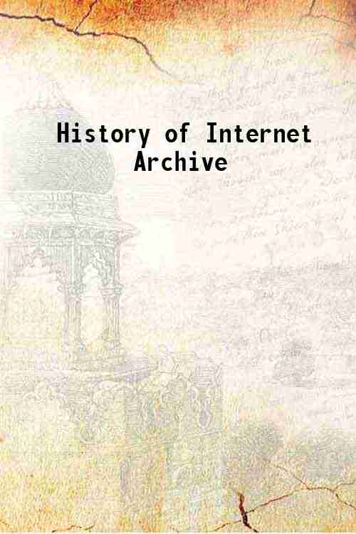 History of Internet Archive