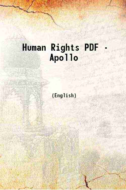 Human Rights PDF - Apollo