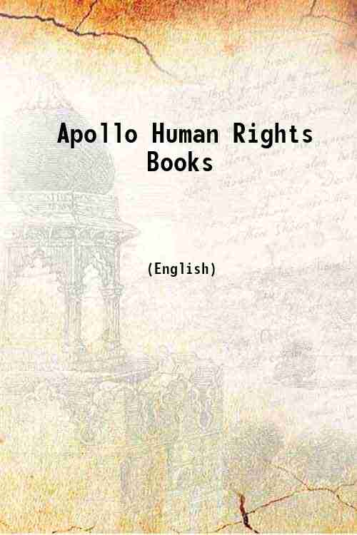 Apollo Human Rights Books