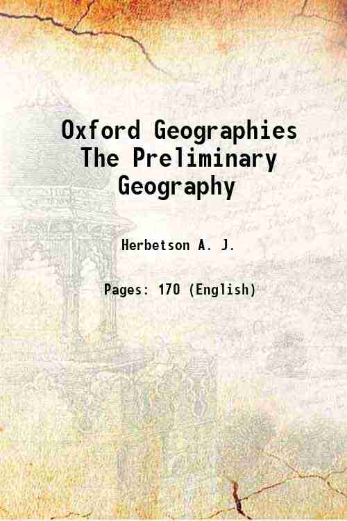Oxford Geographies The Preliminary Geography