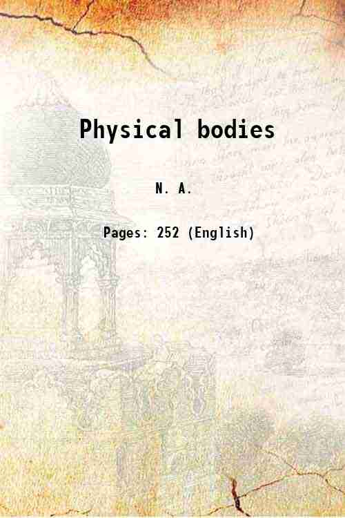 Physical bodies
