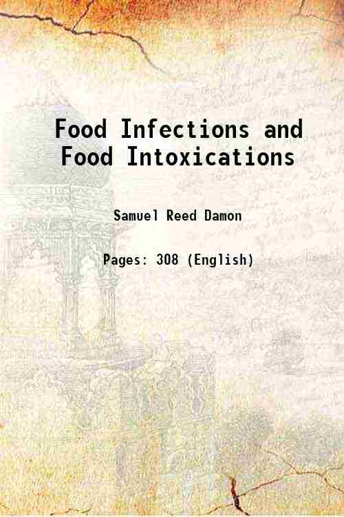 Food Infections and Food Intoxications