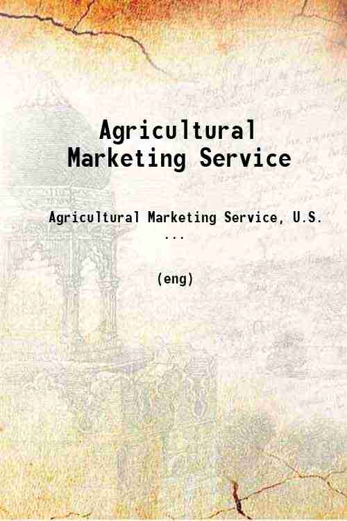 Agricultural Marketing Service
