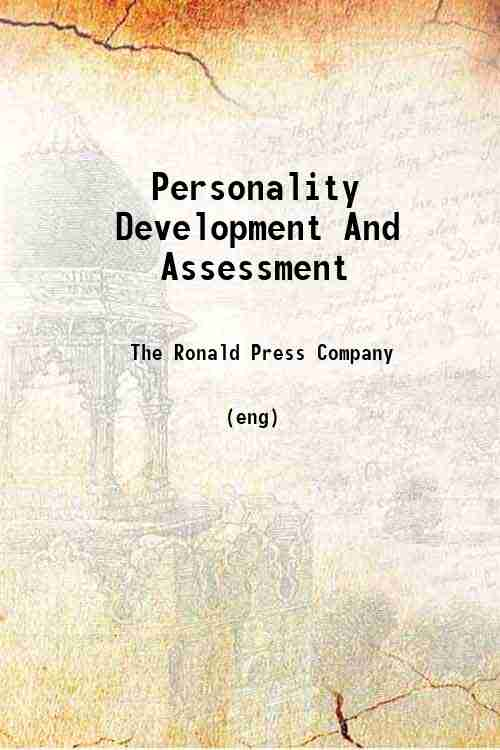 Personality Development And Assessment