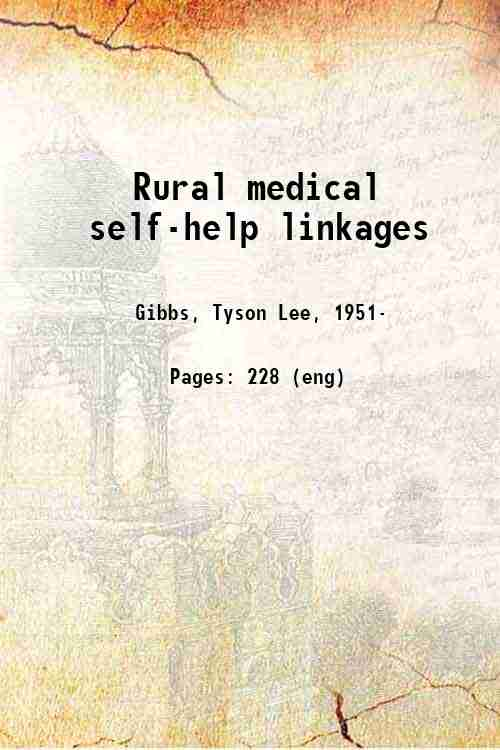 Rural medical self-help linkages