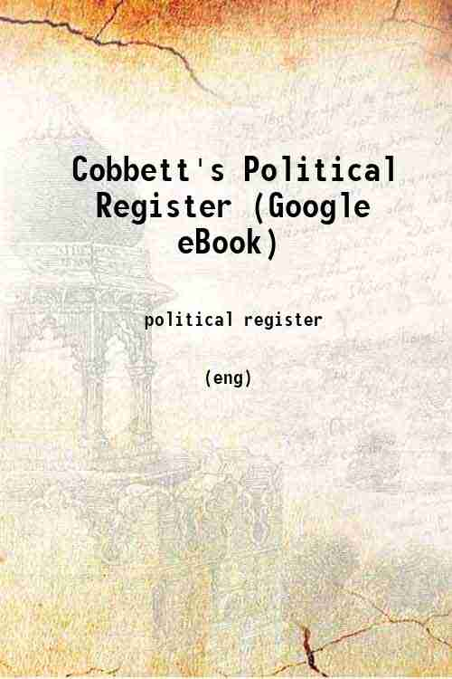 Cobbett's Political Register (Google eBook)