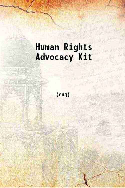Human Rights Advocacy Kit
