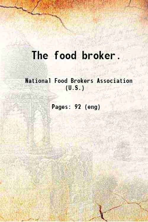 The food broker.