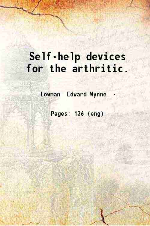 Self-help devices for the arthritic.