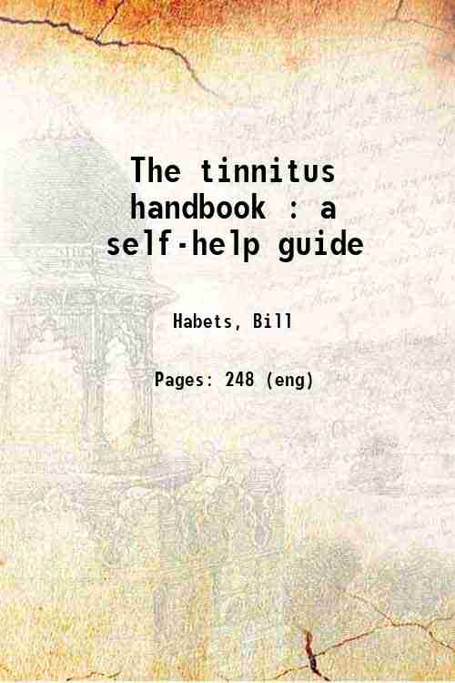 The tinnitus handbook : a self-help guide