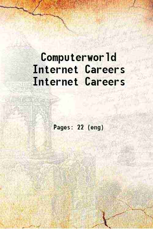 Computerworld Internet Careers Internet Careers