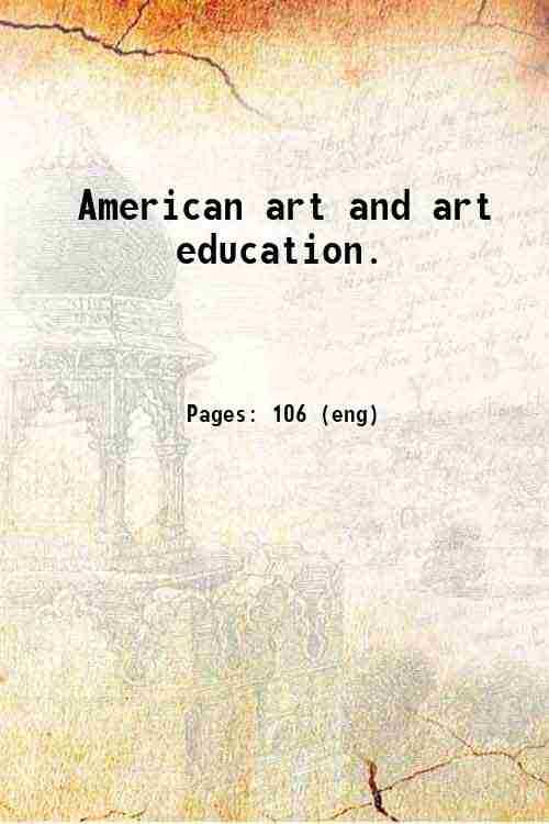 American art and art education.