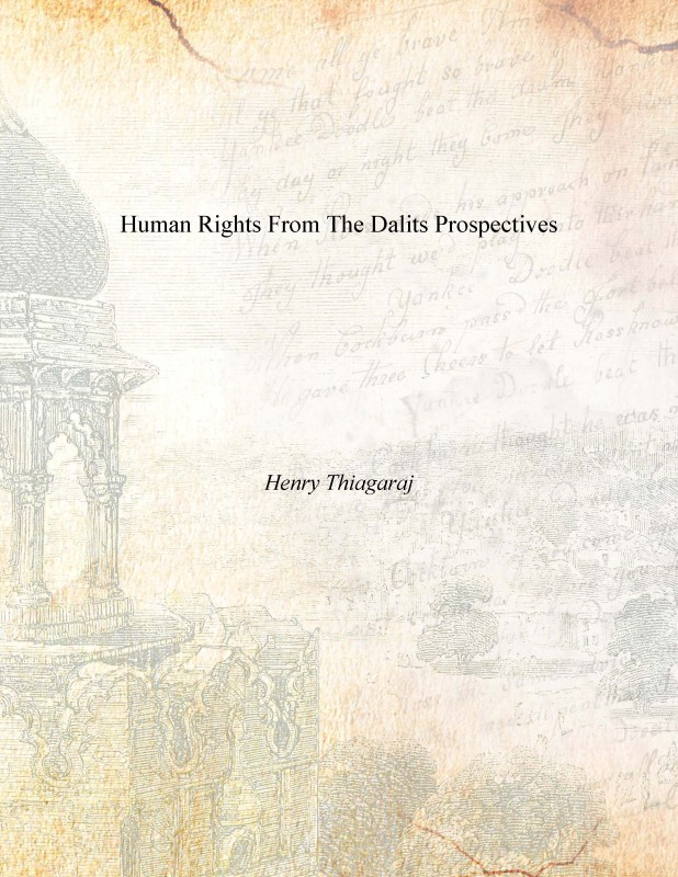 Human Rights From the Dalits Prospectives