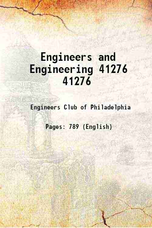 Engineers and Engineering 41276 41276