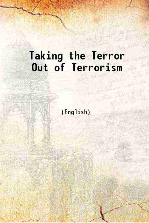 Taking the Terror Out of Terrorism