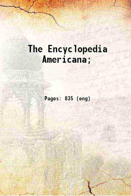 The Encyclopedia Americana;