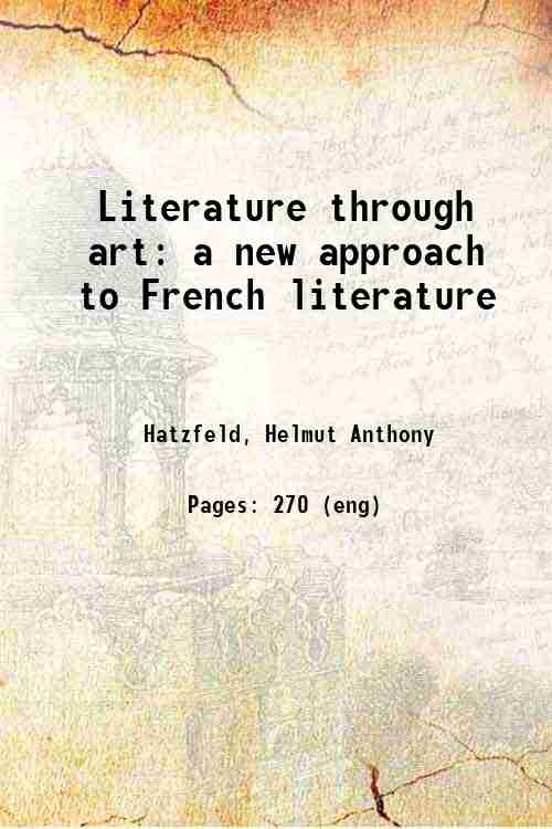 Literature through art: a new approach to French literature