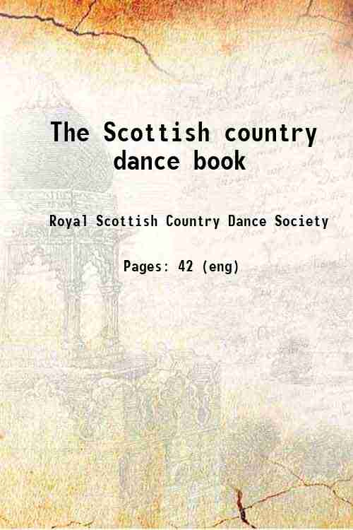 The Scottish country dance book