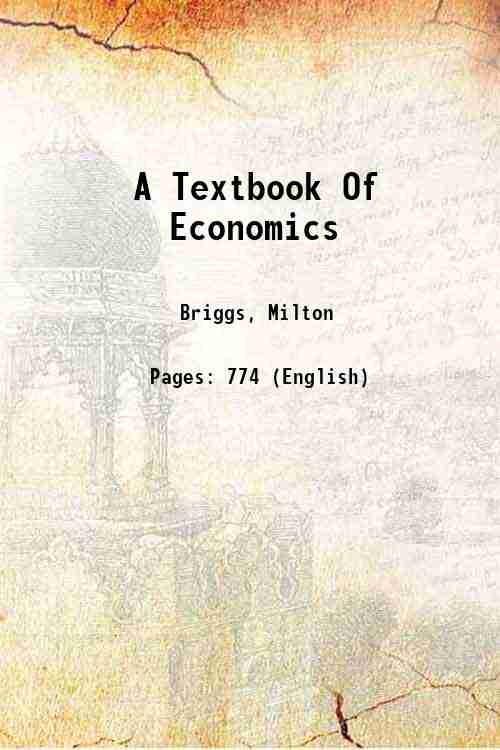 A Textbook Of Economics