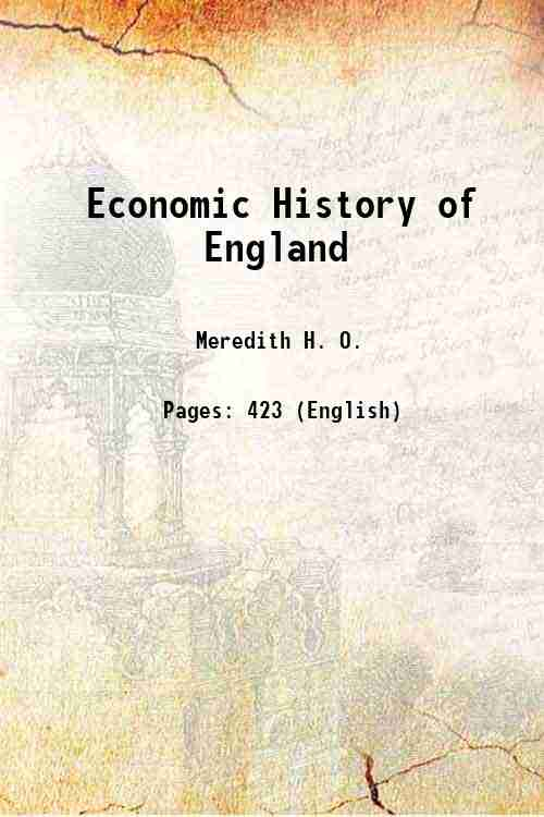 Economic History of England