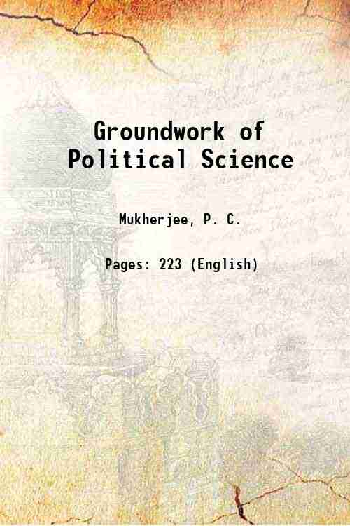 Groundwork of Political Science