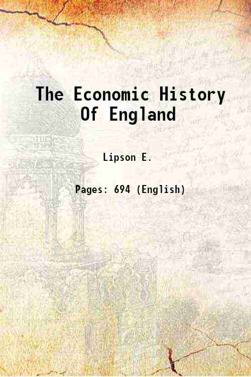 The Economic History Of England