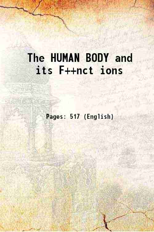 The HUMAN BODY and its F++nct ions