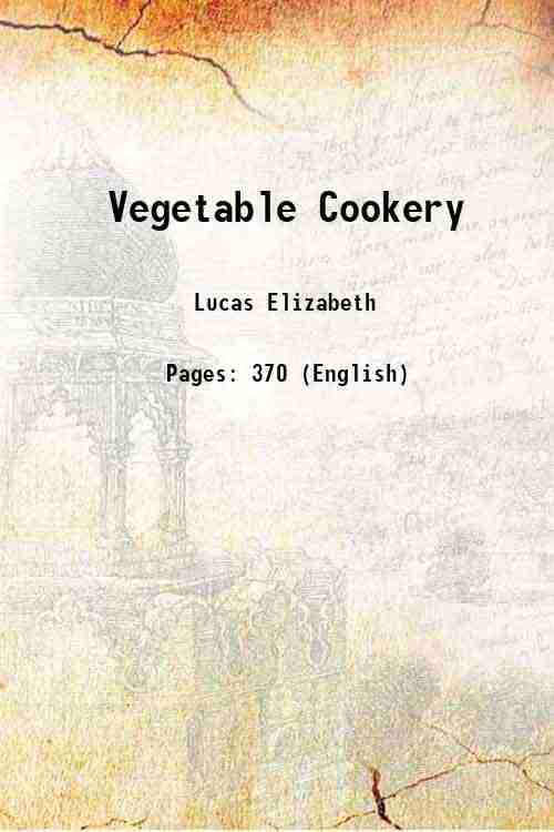 Vegetable Cookery