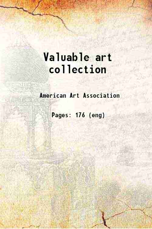 Valuable art collection