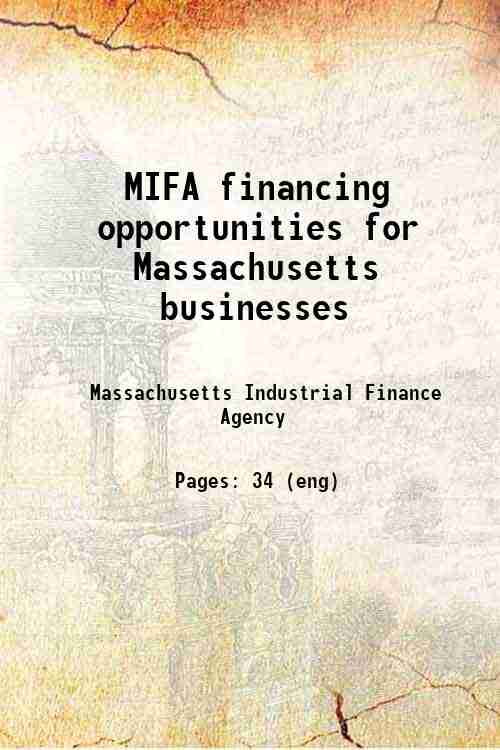 MIFA financing opportunities for Massachusetts businesses