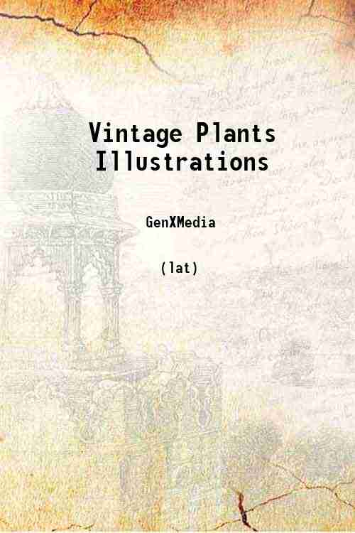 Vintage Plants Illustrations