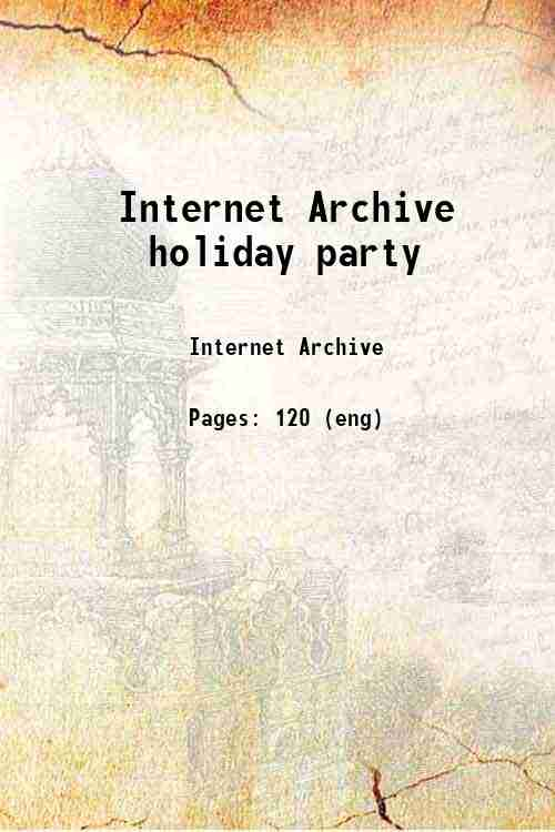 Internet Archive holiday party