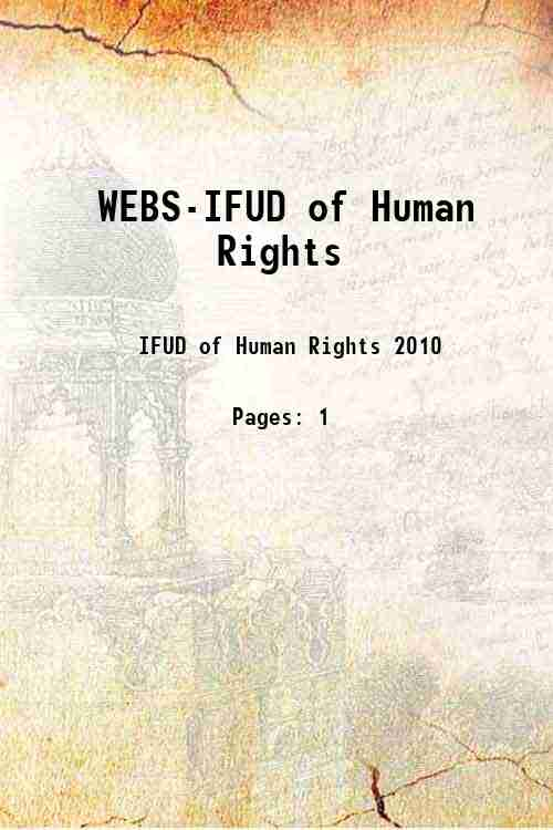 WEBS-IFUD of Human Rights