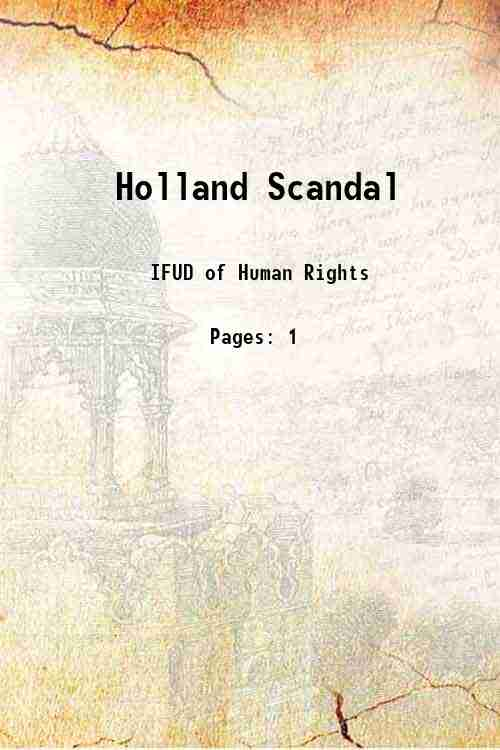 Holland Scandal
