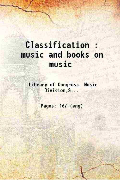 Classification : music and books on music