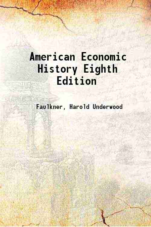 American Economic History Eighth Edition