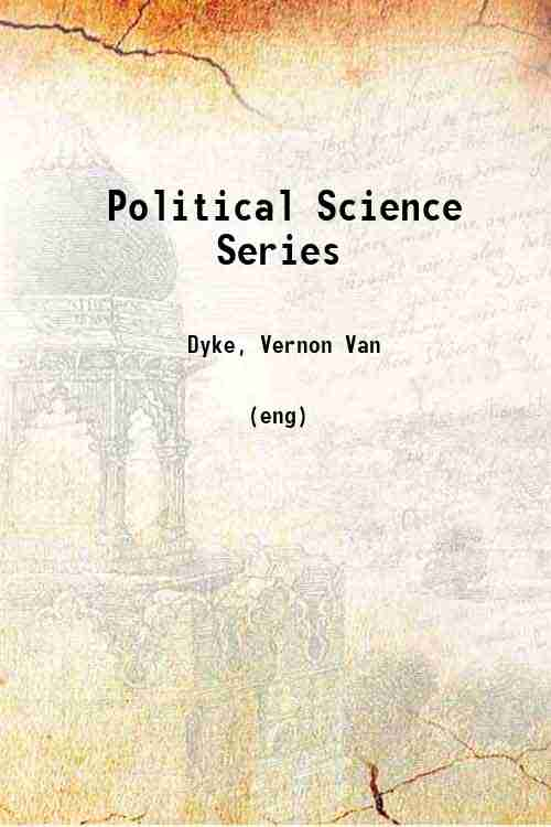 Political Science Series