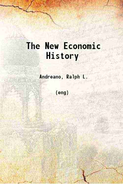 The New Economic History