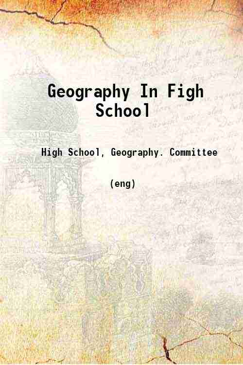 Geography In Figh School