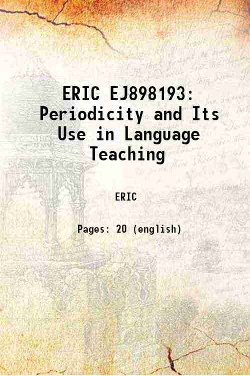 ERIC EJ898193: Periodicity and Its Use in Language Teaching