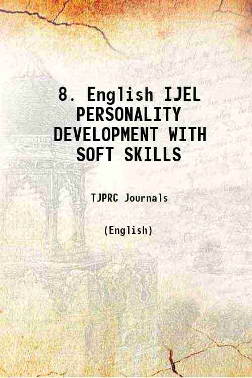 8. English IJEL PERSONALITY DEVELOPMENT WITH SOFT SKILLS