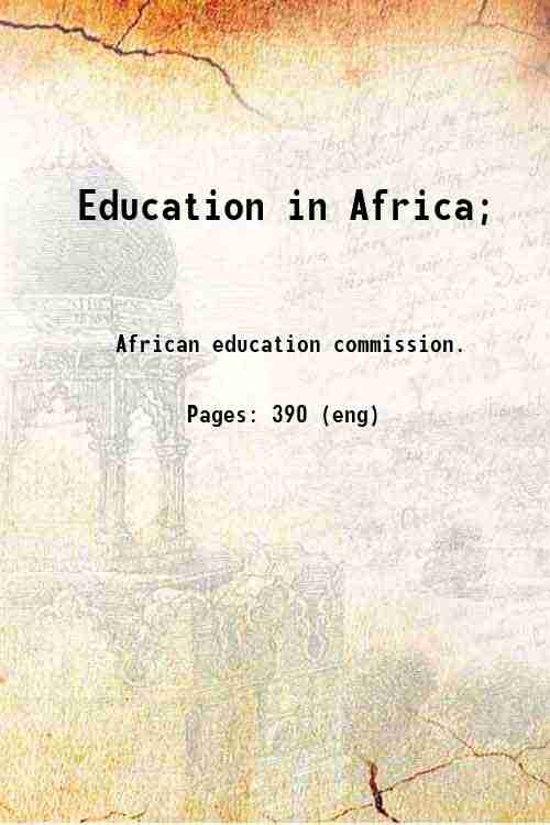 Education in Africa;