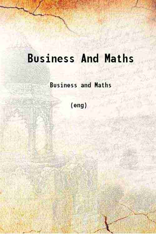 Business And Maths