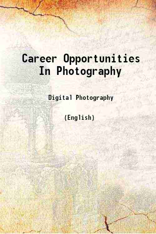 Career Opportunities In Photography