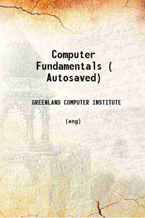 Computer Fundamentals ( Autosaved)
